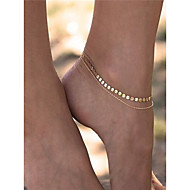 Women's Anklet/Bracelet Copper Iron Fashion Costume Jewelry Jewelry For Dailywear Daily Casual Casual/Daily