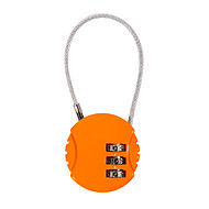 Cadenas de cadenas en alliage de zinc mot de passe de 3 chiffres pour la boîte de voyage bureau de bureau gymnase anti-vol mini tiroir
