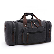 Men Bags All Seasons Canvas Travel Bag with for Casual Outdoor Black Dark Blue Coffee