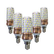 15W LEDコーン型電球 T 78 SMD 2835 700-800 lm 温白色 ホワイト V 5個