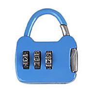 Autre cadenas de mot de passe en alliage de zinc Caddie de mot de passe à 3 chiffres Petite clé de verrouillage de mot de passe Mini sac