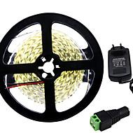 36W Flexibele LED-verlichtingsstrips 3450-3550 lm DC12 V 5 m 300 leds Warm Wit Wit