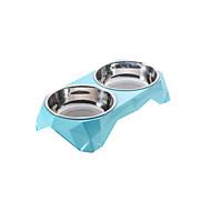 Katze Hund Schalen & Wasser Flaschen Haustiere Schüsseln & Füttern Wasserdicht Tragbar Langlebig Rot Blau