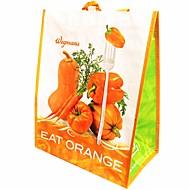 女性 トート プラスチック オールシーズン カジュアル ショッピング ファスナーなし オレンジ