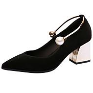 Femme Chaussures à Talons Semelles Légères Chaussures formelles Confort Vrai cuir Printemps Eté Mariage Soirée & Evénement PerleGros