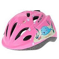 Dětské Helma Tvarovaný potah Tlumení Trvanlivý výrobek Prodyšné Helma Horská cyklistika Silniční cyklistika Cyklistika Bruslení Brusle CE
