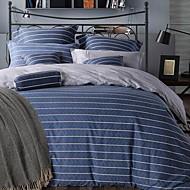 Streifen 4 Stück 1 Stk. Bettdeckenbezug 2 Stk. Kissenbezüge 1 Stk. Betttuch