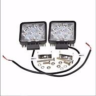 2 x 27w 4-дюймовый флуоресцентный светильник вел грузовик внедорожника suv ute work light