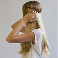 22inch titkos drót hajhosszabbítások -100% -os prémium emberi haj egyenes 80g