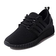 Dames Sneakers Comfortabel PU Zomer Causaal Zwart Rood Plat