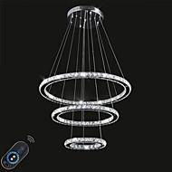 Éclairage gradable led éclairage intérieur intérieur plafonnier lustres lampe électroménager avec télécommande
