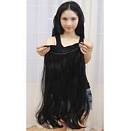 18-дюймовая шелковая прямая невидимая проволока 100% remy реальные человеческие волосы для наращивания 120 г