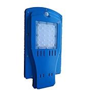 Mxb-s8 20led energia solar luz de rua integrada 8w controle de luz corpo humano economia de energia exterior luzes de jardim impermeáveis