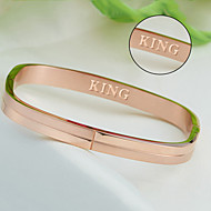 Square steel bracelet sand stainless steel bracelet bracelet creative popular Korean jewelry