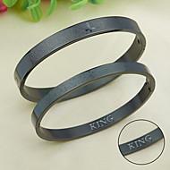 Bracelet Scripture rose gold bracelets Korean pop styles of titanium material HTBR-0406