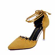 Naiset Sandaalit Kashmir Kesä Kävely Helmillä Piikkikorko Musta Keltainen Vihreä 3-3,75in