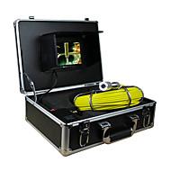 """Endoskop Pipeline-Inspektionssystem 7"""" 30m Drain Abwasserwasserdichte Kamera mit 12 LED-Leuchten"""