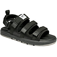 Men's Sandals Comfort Summer Fabric Casual Black Black/Silver Black/Green Black/Blue Flat