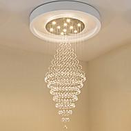現代のledクリスタルの天井のペンダントライトモダンなシャンデリアの家の吊りLED照明のシャンデリアランプの備品