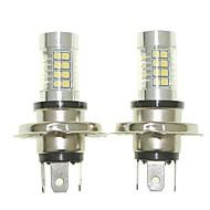 Senscart 2pcs h4 p43t névoa luzes de luz de faróis de luzes de faróis (branco / vermelho / azul / branco morno) (dc / ac9-32v)