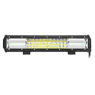 216w 21600lm 6000k led white combo 3-рядный рабочий свет для автомобиля / лодки / фары 9v-32v