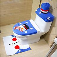 tilfeldig stil god jul og godt nyttårs beste julegave&juledekorasjoner toalett toalett sete teppe