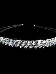 Gorgeous Clear Crystals Wedding Bridal Tiara/ Headpiece