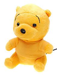 encantadora amarillo USB Webcam oso espía (350k píxeles)