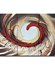 Handmade Abstract Painting Stretched Ready to Hang (0695 -AB-384)