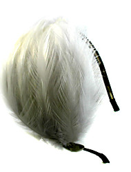 Women's Flower Girl's Feather Alloy Headpiece-Wedding Special Occasion Casual Outdoor Headbands