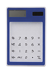 прозрачно-солнечных батареях-калькулятор (синий)
