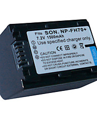Replacement Camcorder Battery FH70/FH100 for Sony DCR-DVD105/Sony DCR-DVD308(09370112)