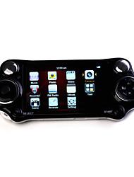 4,3 polegadas 100 jogos jogador mp4 com câmera digital (4gb, branco / preto)