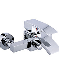 enkele handgreep chroom wall-mount bad kraan 0599-qh0703-2