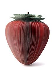 unico pad a forma di fragola mini memo appiccicoso (rosso)