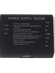 PC Computer ATX+HDD+SATA Power Supply Tester