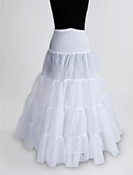 Nylon A-Line Full Gown 1 Tier Floor-length Slip Style/ Wedding Petticoats