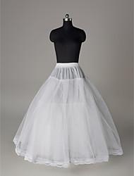 Nylon A-Line Full Gown 3 Tier Floor-length Slip Style/ Wedding Petticoats