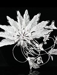 Gorgeous Rhinestones/ Imitation Pearls Bridal Combs