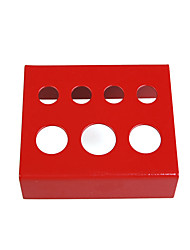 Top palette de rouges porte-gobelet d'encre