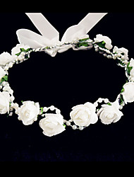 Women's/Flower Girl's Foam Headpiece - Wedding/Special Occasion/Casual Flowers