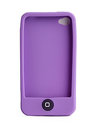 Custodia in silicone per iPhone 4 - Viola
