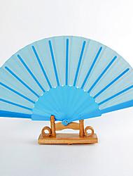 "Ventoinhas Portáteis(Azul) -Ventoinha Portátil Estilo Onda-Pano- dePlástico Verão 16 1/2""x9""x 3/4""(42cmx23cmx1cm)1""x9""x"