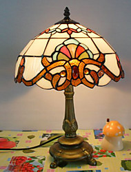 Antique Inspired Table Light in Tiffany Style