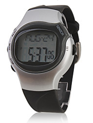 Pulse Heart Rate Monitor Calories Counter Stop Automatic Watch with Alarm Cool Watch Unique Watch