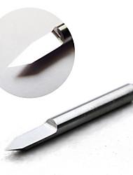 bit di incisione in metallo duro - 45 gradi 0,2 millimetri di diametro (5-pack)