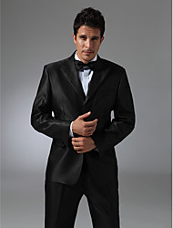 Single Breasted Three-button Peak Lapel No vented Groom Tuxedo