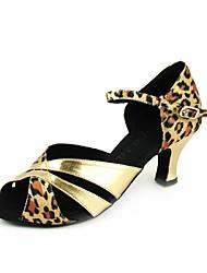искусственная кожа / сатин верхней танцевать бальные туфли латинского обувь для женщин больше цветов
