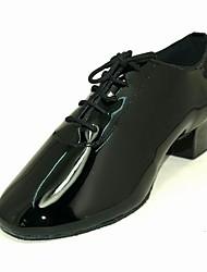 лакированная кожа верхних танцевать бальные туфли латинского обувь для мужчин