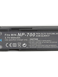 850mAh 3.7V Digital Camera Battery NP-700 for MINOLTA DG-X50series and More